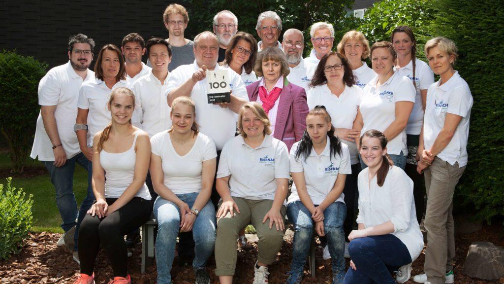 Laborportrait Eisenach Dental-Technik Gruppenfoto