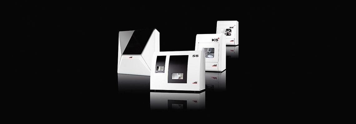 N4+ d5 vhf Fräsmaschinen im vergleich mit K5+ R5 und Z4