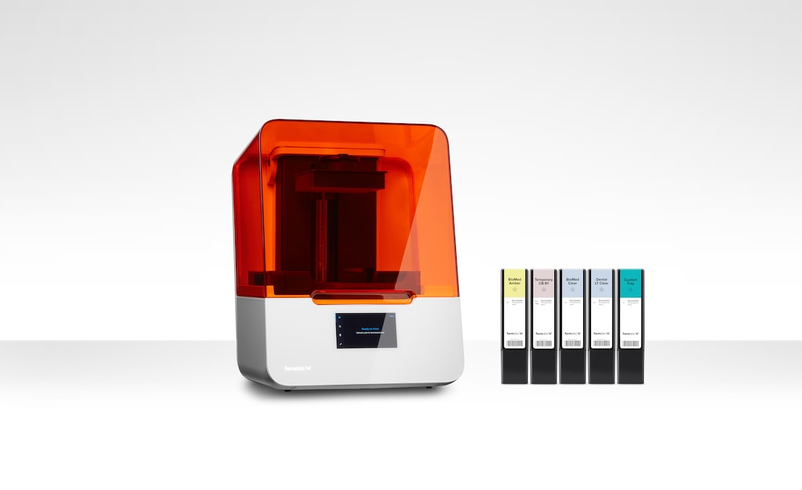Form 3B 3D-Drucker von Formlabs neue Materialien