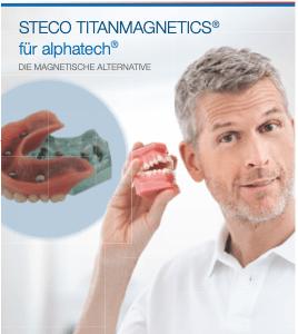Broschüre Magnetische Prothesen Steco StitanMagnetics