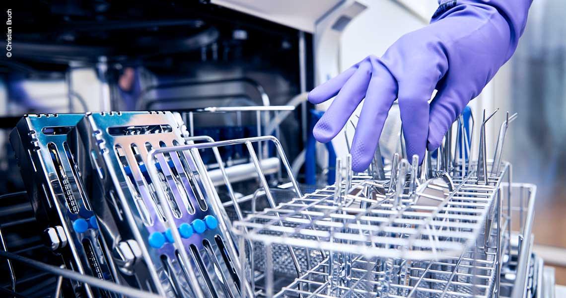 Instrumentenaufbereitung: Neugestaltung Steriraum