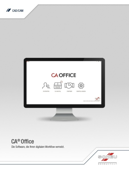 Imprimo Ortho Connect: Broschüre CA Office Cover