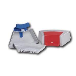 Umweltschutz durch Mehrweg-Transportboxen für Zahnmodelle